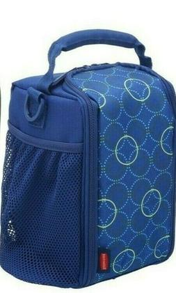 Rubbermaid LunchBlox Small Lunch Bags Blue Circles