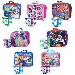 Marvel Paw Patrol Disney JoJo Siwa Insulated Lunch Bag w/ Sn
