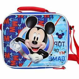 Disney Mickey Mouse Insulated Lunch Bag Top of My Game With