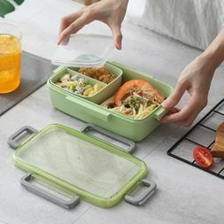 Microwave Lunch Box Containers With Compartments Kids Box Fo