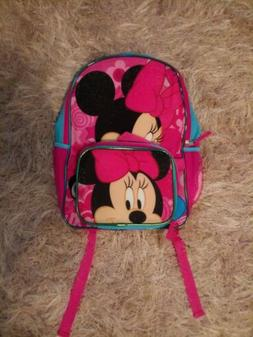 Disney Minnie Mouse Backpack And Lunch Bag NWT.