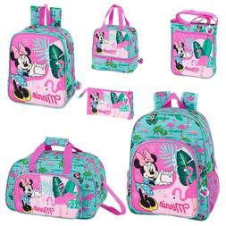 Disney Minnie Mouse Flamingo Backpack School Bag Travel Ruck
