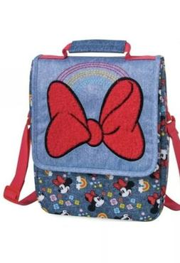 Disney Minnie Mouse Insulated Dual Lunch Bag, Muti Colors Ne