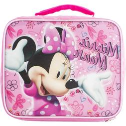 DISNEY MINNIE MOUSE KIDS LUNCH BOX BAG TOTE NEW