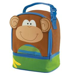 Stephen Joseph Monkey Lunch Bag   Boy's Monkey Lunch Bag   M