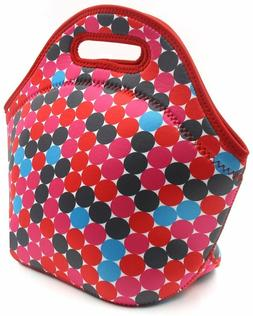 PAG Neoprene Lunch Tote Insulated Reusable Picnic Lunch Bags