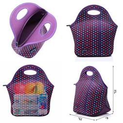 Cosfash Neoprene Lunch Tote Insulated Reusable Picnic Lunch