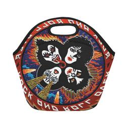 New Popular Custom Kiss Rock Insulated Lunch Container Picni