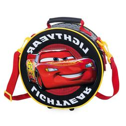 NEW Disney Store Cars Lightning McQueen Lunch Box Tote Boys