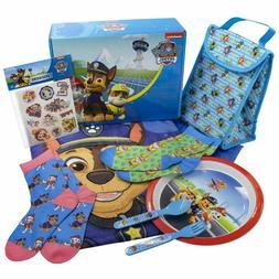 Nickelodeon PAW PATROL Loot Box Gift Set - Lunch Bag, Socks,