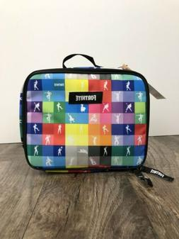 NWT Fortnite Amplify Dance Insulated Lunch Box Bag Tote Danc