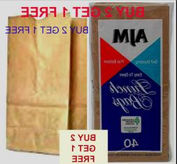 AJM-Paper-Lunch-Bag 40 CTS-Biodegradable-and-RecyclableFREE