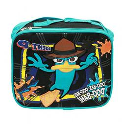 Disney Phineas and Ferb Black Lunch Bag for kids Girls/Boys