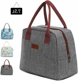 Portable 7.5L Lunch Bag Thermal Freezable Foldable Tote with