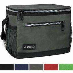 OPUX Premium Insulated Lunch Bag With Shoulder Strap Box For
