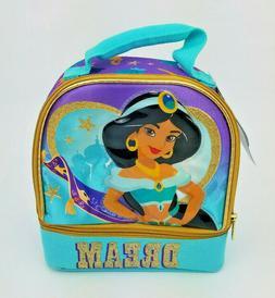 Disney Princess Aladdin Jasmine Dual Compartment Lunch Bag B