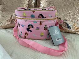 Princess School Lunch Tote Box Bag Travel Case Disney Store