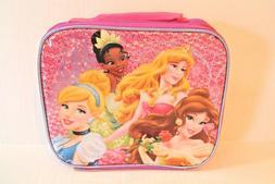 Purple Disney Princess Lunch Box for Girls NEW