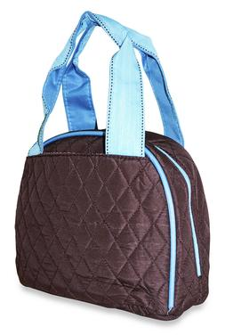 Quilted Reusable Lunch Tote Bag Insulated Thermal for Womens