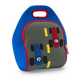 Race Car Kid Boy Preschool Eco Insulated Lunch Bag Tote Sack