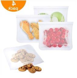 Reusable Food Storage Bags, Monato BPA Free Leakproof Reusab