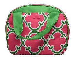9 In Small Reusable Zippered Top Insulated Lunch Bag