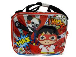 Ryan's World Boys Amazing Canvas Blue & Red Insulated Lunch