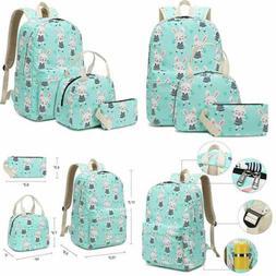 School Backpack For Girls Teens Bookbag Set Cute Student 3 I