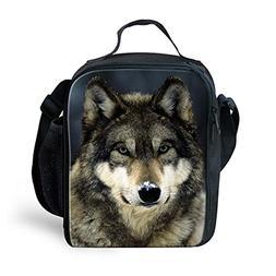 Dellukee School Lunch Bag For Kids Soft Boys Girls Adjustabl