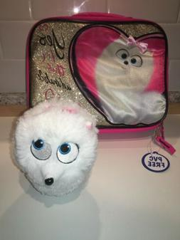Secret Life of Pets 2 GIDGET Pink Insulated Lunch Bag Glitte