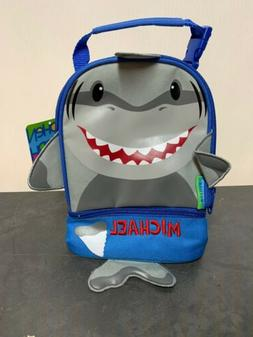 Stephen Joseph Shark Lunch Bag/Lunch Pal Personalized- Micha