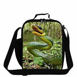 Snake Lunch Bags Printed Small Box For Children School Coole