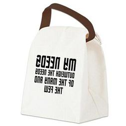 CafePress Star Trek Spock Canvas Lunch Bag with Strap Handle