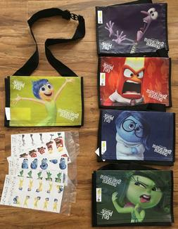 Subway Kids Meal INSIDE OUT Lunch Bags Games SET OF 5 / RARE