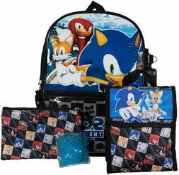 Sonic The Hedgehog Game Boy School Backpack Book Bag Lunch 5