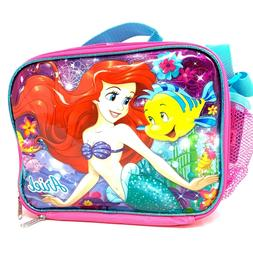 "Disney The Little Mermaid Ariel 9.5"" Blue & Pink Insulated L"