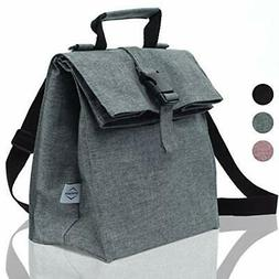 Thermal Insulated Medium Lunch Box Reusable Lunch Bag Lunch
