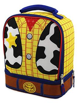 Toy Story Woody Kids Soft Dual Compartment Insulated School