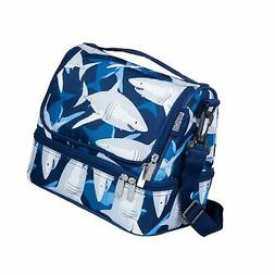 Wildkin Two Compartment Lunch Bag, Insulated, Moisture Resis