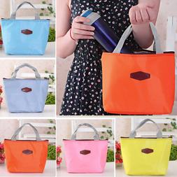UK 1PC Children Adult Lunch Bags Insulated Lunch Picnic Bags