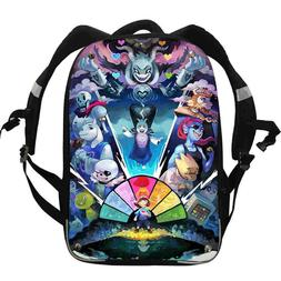 Undertale Backpack For Girls Boys Kids School Cusual Sans Lu