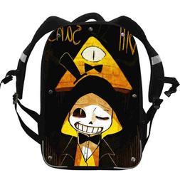 Undertale Backpack For Girls Boys Kids School Cusual Sonic L