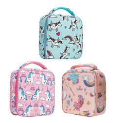 Unicorn Lunch Box, Girls Insulated Unicorn Lunch Bags, Kids