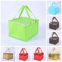 Unisex Adults Kids Lunch Bags Insulated Cool Bag Picnic Bag