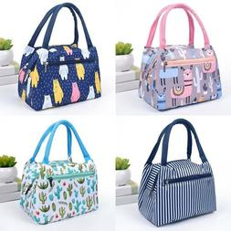 Waterproof Insulated Lunch Bag Thermal Cooler Tote Lunch Box