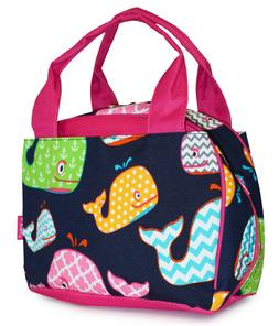 Whale Reusable Lunch Tote Bag Work School Insulated Thermal