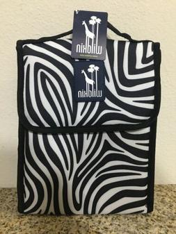 Wildkin Zebra Munch 'n Lunch Bag